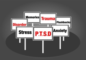 PTSD concept signs